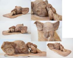 Elephant Sculpture by renonevada