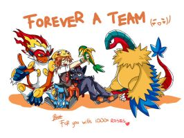Forever a TEAM 2 by BlakkHeart