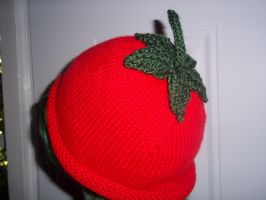 Tomato Hat by Perfect-Extortionist