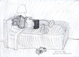 Portia's Pause by Artytoons