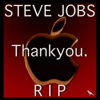 Steve Jobs by jennystokes