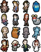 Doctor Who Magnets by Hawkstone