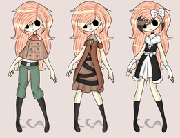Offer To Adopt Set 2 by CoffeeCake-Adopts