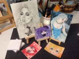 Sketch Fest #60 Sketches by Katerina-Art