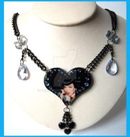 Bettie Page Necklace by cherryboop