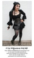 Gothic Lady Stock by MADmoiselleMeliStock