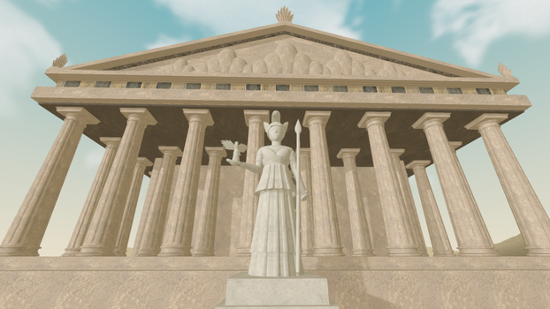 Outdoor Athena by uemeu-official