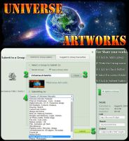 Submit in Universe-Artworks from artist gallery by Ehsan-m