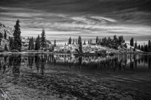 The West Edge of Cathrine BW by mjohanson