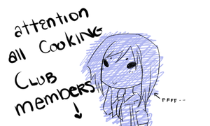 [IH] attention all cooking club members by Annamaru