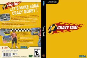 Crazy Taxi DVD Cover by clive40