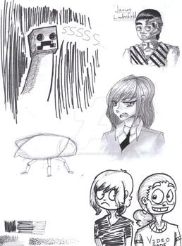 Ink Doodles by TrainerEXPLOSION