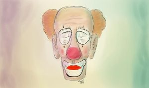 Old Clown by TheBigDaveC