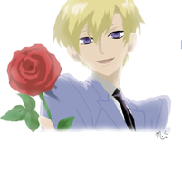Tamaki from Ouran by melcatpie