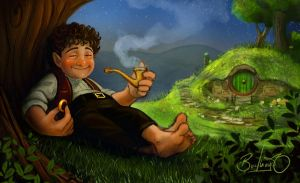 Bilbo by Simon Buckroyd by Binoched