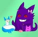 Pachi and Gengar by Lexi247