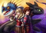 HttyD2: Dragon Trainers by Risachantag