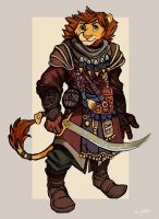 Lion Nomad Warrior by TheLivingShadow