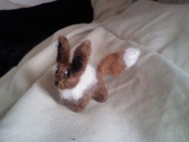 Needle Felt Eevee by Olliefelts