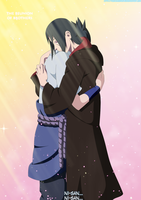 Naruto 574 Itachi and Sasuke The Reunion by IITheYahikoDarkII