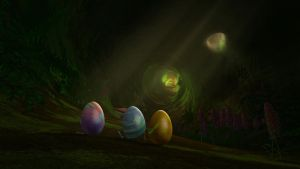 RotG: Easter Eggs by Frie-Ice