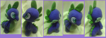 Spike Plushie ( auction link ) by Busoni