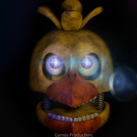 Stylized Withered Chica WIP (4K) by GamesProduction