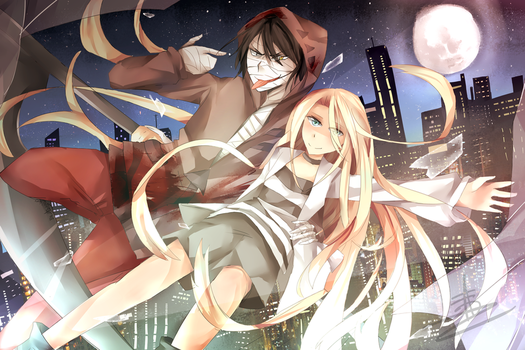 Descend (Zack and Ray) Angels of death by Wes80