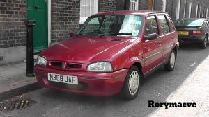 1995 Rover 100 (Metro) by The-Transport-Guild