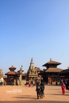 Templescape by lalitkala