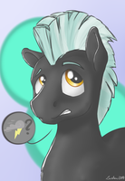 Thunderface by Lardon-Draconis