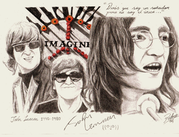 Imagine- John Lennon by Pmag1