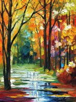 LATE FALL -- LEONID AFREMOV by Leonidafremov