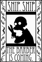 Promotional Barber Poster by TheNoirGuy