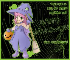 Happy Halloween and Thanks by CandyGirlxD