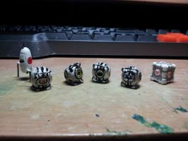 Portal Miniatures: Meet the Cores! by CJEgglishaw