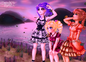Ladies' View - Katiya, Macie, Candy by Dradra-Trici