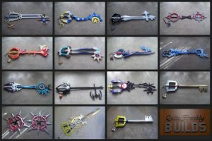 Kingdom Hearts props mash-up by finaformsora