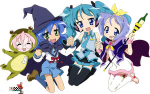 Lucky Star Render by xLuluChan