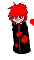 Sasori half heart by TheForgottenWolf