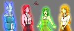 Four Maidens by Atrox-Forensis
