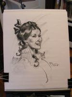 old timey charcoal drawing by MichaelDooney