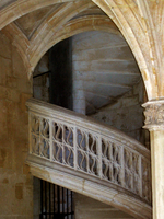 Gothic staircase by Azenor-stock