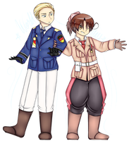 APH - World Stars - Germany and Italy by xSarcelle