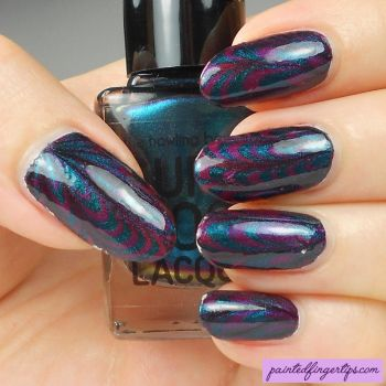 Water-marble-supermoon-alpha-lupi-gamma-lupi by Painted-Fingertips