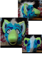 Spotted Sparkle Hyena WIP by CalicoCougar