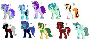 Free MLP Adopts 5 CLOSED by sam-speed
