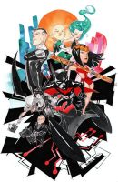 Justice League Beyondness by duss005
