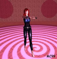 Mara Jade Hypnotized And Barefoot by The-Mind-Controller