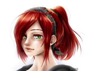 [ Tsuka's Portrait ] + SPEEDPAINT | Japan Expo by x-Tsuka-x